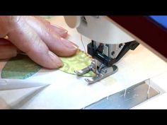 Fancy Flowers Quilt Along: Lesson 8 of 11, Hand or Machine Stitching the Appliqué Shapes
