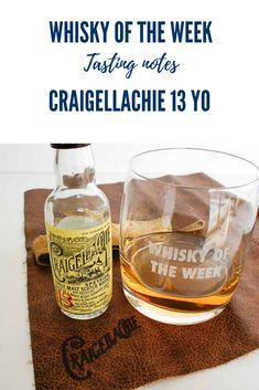 Craigellachie 13 yo Single Malt Whisky Review and Tasting Notes Speyside Whisky, Single Malt Whisky, Cigar, Whiskey Bottle, Scotland, Notes, Drinks, Food, Drinking