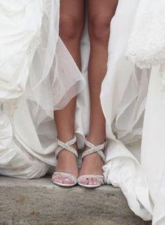 Brautschuhe stylish: In diesen High Heels heiraten wir!