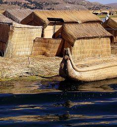Uros Island - Lake Titicaca