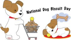 Information and Clip Art for National Dog Biscuit Day