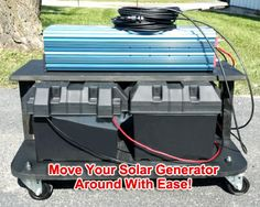 Solar Powered Generator 135 Amp 12000 Watt Solar Generator Just Plug and Play - NOT A KIT