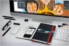 MOLESKINE SMART NOTEBOOK - http://www.gadgets-magazine.com/moleskine-smart-notebook/