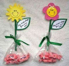 Blume mit Bonbons