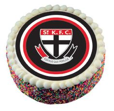 St Kilda Saints Cake Icing Market Sportscomau cakepins.com 6th Birthday Cakes, St Kilda, Cake Icing, Celebrations, Saints, Football, Club, Baking, Soccer