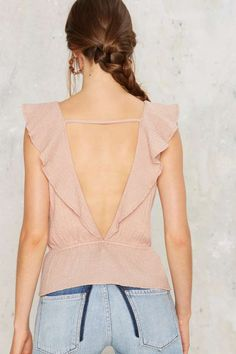 Illume Ruffle Top - Clothes | Summer Romantics | Blouses