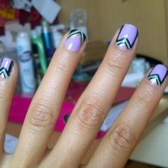 Henry holland inspired nails.