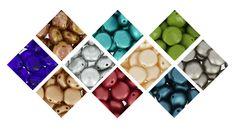 Nouveauté : les perles cabochons Candy Beads à 2 trous sont désormais disponibles chez Perles & Co ! Retrouvez-les ici >>> https://www.perlesandco.com/Verre_Candy_Beads-c-2626_40_3484.html