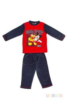 Pyjama Garçon Mickey Good night https://twitter.com/Tolukicom #enfant #pyjama
