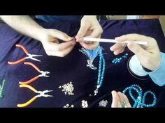 Tesbih Yapımı - Kendi Tesbihlerinizi Tasarlayın. - YouTube Soutache Jewelry, Beaded Jewelry, Foam Crafts, Paper Crafts, Fancy Bows, Satin Roses, Fabric Bows, Flower Making, Handmade Crafts