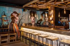 tomo restaurant by voyage in design Japanese Restaurant Interior, Rustic Restaurant, Restaurant Concept, Japanese Interior, Restaurant Interior Design, Chinese Restaurant, Restaurant Bar, Japanese Wall Art, Japanese Bar