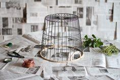 Flower chandelier DIY supplies by Brittni Mehlhoff l Gardenista