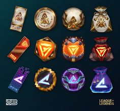 ArtStation - LoL - Event Loot, Wild Blue Casual Art, Game Item, Game Assets, April Fools, The Fool, Dumb And Dumber, Blue, Studios, Objects