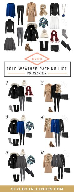 f4b68c6ff13d Packing List for Cold Weather - Keep Warm   Cute. Weekend Trip ...