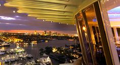 Went to a Rotating Restaurant - Pier 66 Fort Lauderdale