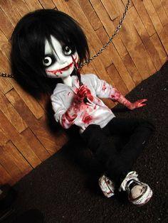 Jeff The Killer doll :3