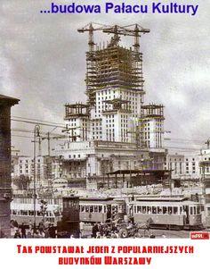 Tak powstawał jeden z popularniejszych budynków Warszawy
