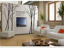 """Новый высокое качество 6 большое дерево стены 250 x 180 см ( 98'x70 """" ) DIY предметы искусства виниловые наклейки росписи декора на белый(China (Mainland))"""