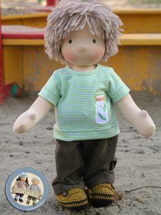 Waldorf boy doll by Lalinda.pl