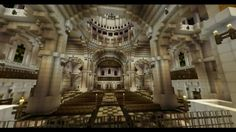 Minecraft cathedral 4