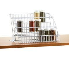 Pull-Down Spice Rack | The Container Store