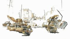 'Trying to give civilians justice': Artist captures brutality of Mosul in poignant drawings https://tmbw.news/trying-to-give-civilians-justice-artist-captures-brutality-of-mosul-in-poignant-drawings  Renowned reportage artist George Butler has traveled to Iraq's Mosul to depict how the war ruined not just the city but also people's lives. Butler told RT he cannot accept the routine way the civilian cost of fighting and airstrikes is being described.READ MORE: 'The liberation of Mosul has…