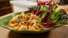 Coronation chicken- Step back into 1952 and showcase the classic chicken salad for a delicious lunch of Coronation nostalgia.