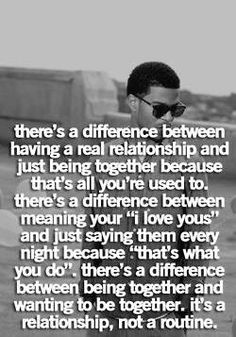 There's a difference...