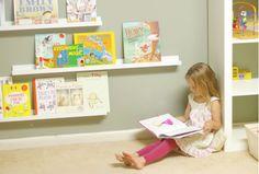 Kid's bookshelves