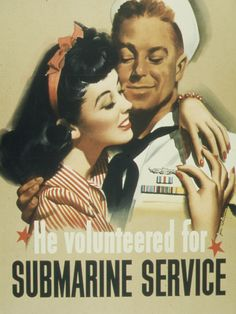 He Volunteered for Submarines Service