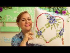APRENDE PASO A PASO A BORDAR EL NUDO FRANCES  /EMBROIDERED RIBBON FRENCH KNOT - YouTube