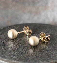 Matte Stud Earrings – $21