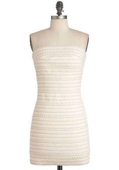 You and Ivory Dress, #ModCloth