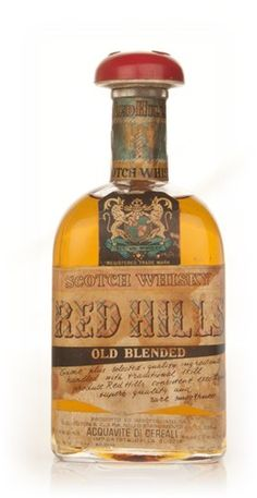 Red Hills Old Blended Scotch Whisky - 1970s Whisky - The Whisky Club