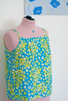 The Home in Paradise: Garden breeze camisole -With instructions!
