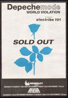 Depeche Mode: World Violation @ Wembley Arena