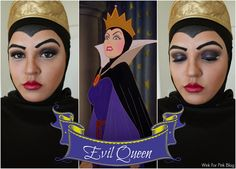Wink for Pink: Disney Villain Makeup Series: Evil Queen from Snow White