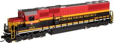 Atlas N Scale EMD SD-60 Diesel Locomotives at BLW.