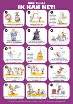 Poster bij Kids Skills - een fijne methode om je kind vertrouwen in eigen vaardigheden te geven