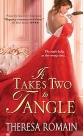 KOBO DAILY DEAL Now $2.99 >> It Takes Two to Tangle By Theresa Romain #6 in Romance