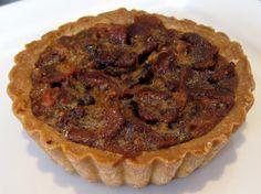 Sweet Binney's Chocolate Chip Bourbon Pecan Bacon tart.