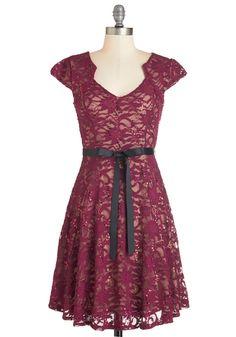 Sweet Staple Dress in Merlot, #ModCloth