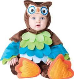 Incharacter Baby-Eulen-Baby-Kostüm What a Hoot 12-18 Monate