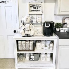 Amazing DIY Rae Dunn Display Ideas and Pictures 46