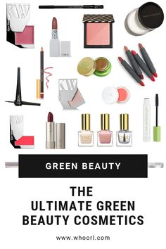 There are so. many. amazing green/natural/organic beauty brands out there, and this list just grazes the surface. I highly recommend trying whatever you can get your hands on, but in the meantime, these are all personal favorites that I've used for quite some time. #makeup #cosmetics #greenbeauty