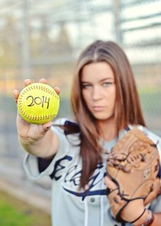 High School Senior Portrait Seniors Portraits Softball Sports Photography Girl Girls