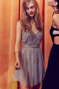 Kimchi Blue Melanie Crystal Dress
