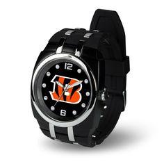 Cincinnati Bengals NFL Crusher Series Mens Watch