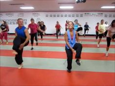 kardio Kim Johnson - 1 Hour Zumba Fitness - 2012 September (she posts one free hour long Zumba video per moth)