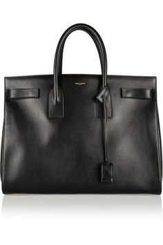 Saint Laurent - Sac De Jour Medium Leather Tote - Black - one size